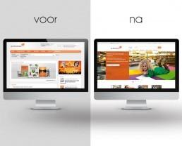 Freelance UI UX onderzoeker designer Biblionet Bibliotheken Drenthe